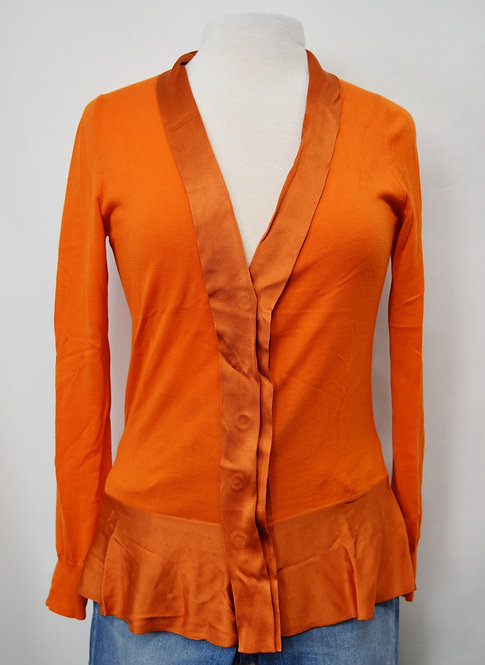 Alexander McQueen Orange Sweater Size Small
