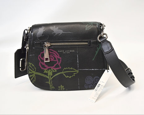 Marc Jacobs Black Leather Crossbody Purse