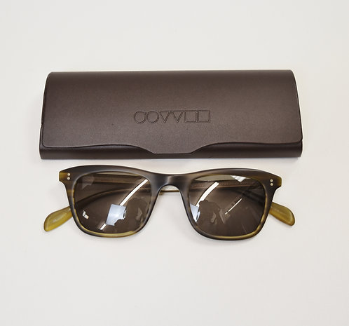 Oliver Peoples Brown Wayfarer Sunglasses