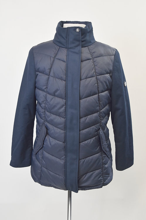 Barbour Navy Quilted Jacket Size XL (16)