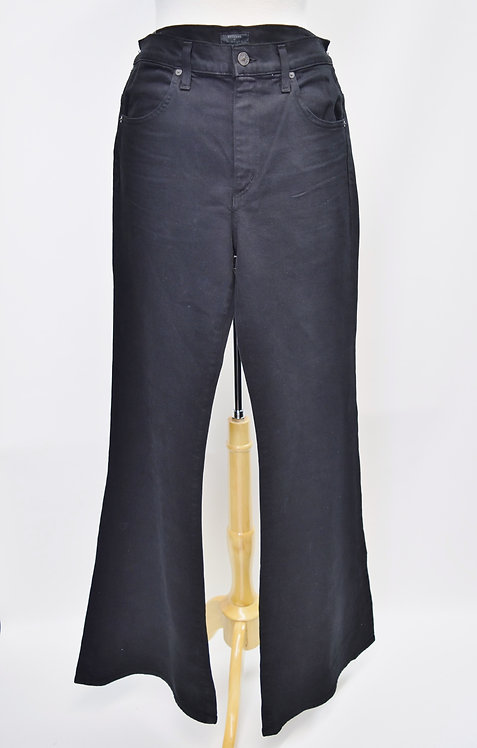 Citizens Of Humanity Chloe Black Flare Jeans Size 30