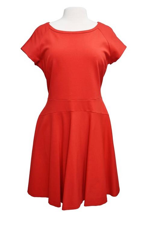 Diane Von Furstenberg Red Dress Size 14