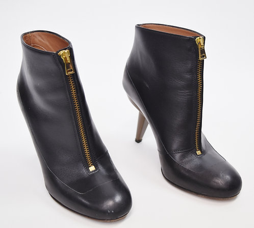 Marni Black Leather Booties Size 6