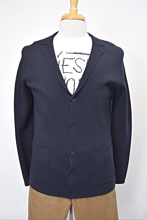 Reiss Navy Knit Cardigan Size Medium