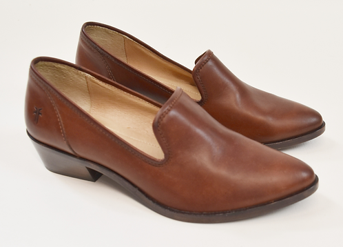 """Frye Brown Leather """"Shootie"""" Shoes Size 7.5"""