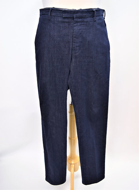 PT01 Blue Chambray Pants Size 34