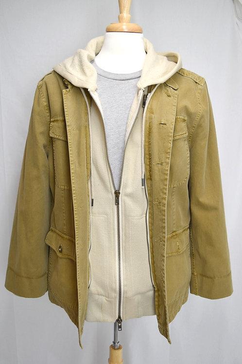 Nicholas K Mustard 2-n-1 Jacket Size XL