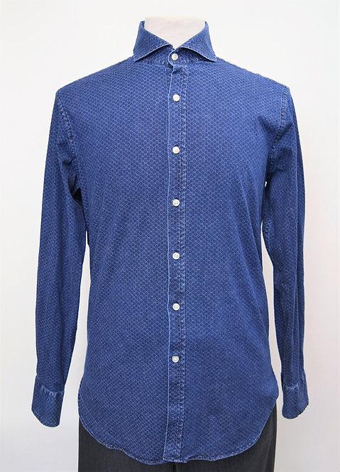 Michael Bastian Blue Denim Shirt Size Medium