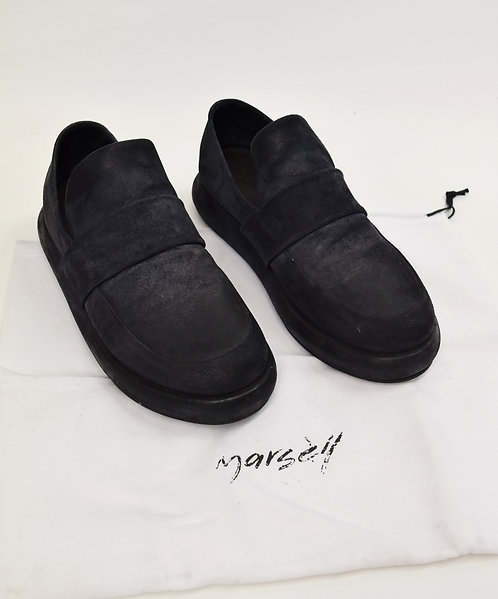 Marsell Black Suede Shoes Size 8.5