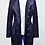 Thumbnail: Burberry Navy Trench Coat Size 10