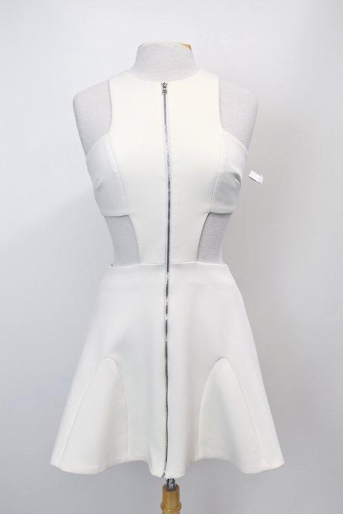 Cushnie Et Ochs White Cut-Out Dress Size Small