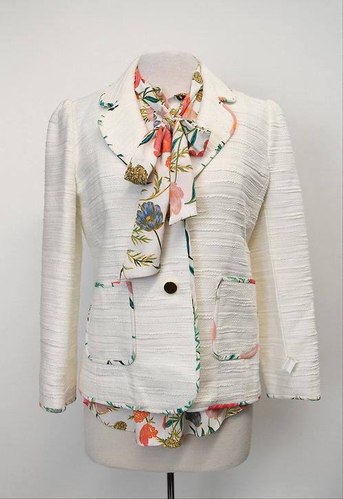 Kate Spade White Blazer Size Medium (8)