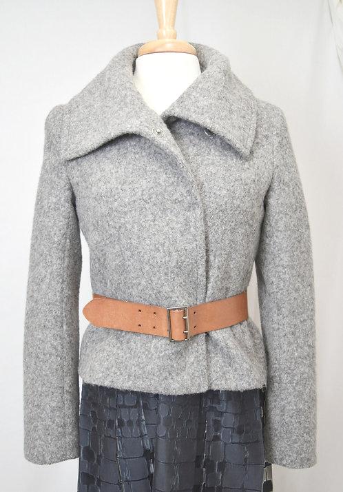 Theory Alpaca Knit Jacket Size Medium