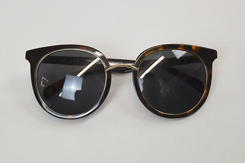 Balmain Round Tortoise Shell Sunglasses