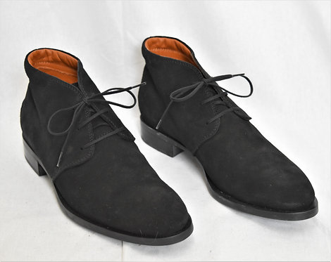 Tod's Black Suede Lace-Up Boots Size 9