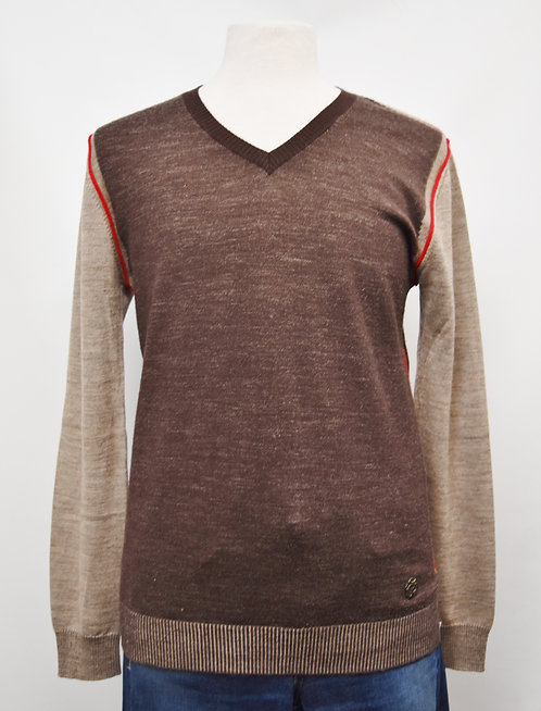 Just Cavalli Brown Sweater Size Large