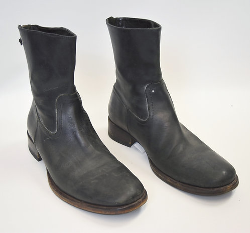 Buttero Black Leather Boots Size 9