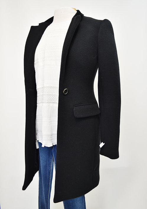 Bird by Juicy Couture Black Coat Size XS