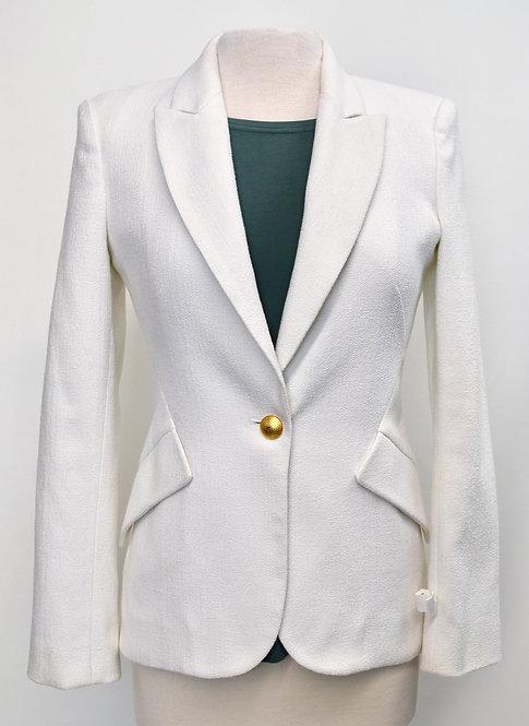 L'Agence White Chamberlain Blazer Size 2