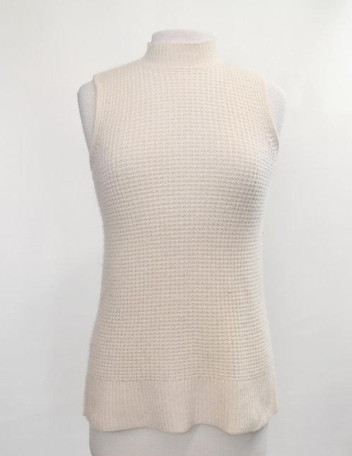 Saks Fifth Avenue Cream Cashmere Top Size XS