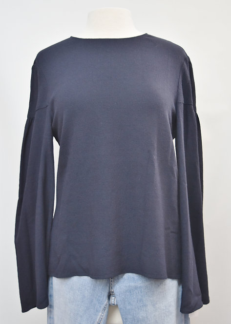 Creatures Of The Wind Navy Blouse Size 6