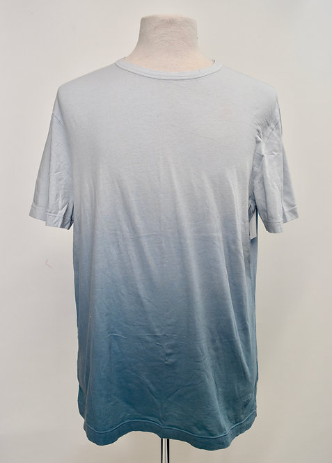 Gucci Blue Ombre Dyed T-Shirt Size XL