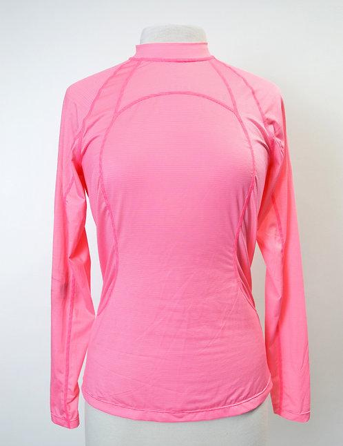 Lululemon Pink Stripe Long Sleeve Shirt Size 10