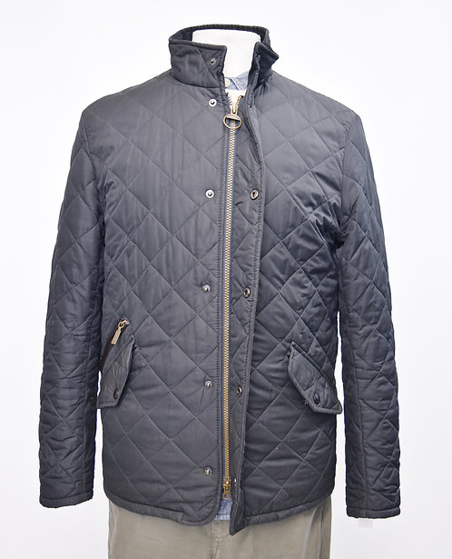 Barbour Black Quilted jacket Size Small