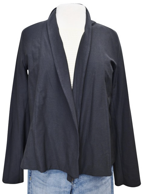 Eileen Fisher Gray Short Jacket Size Medium