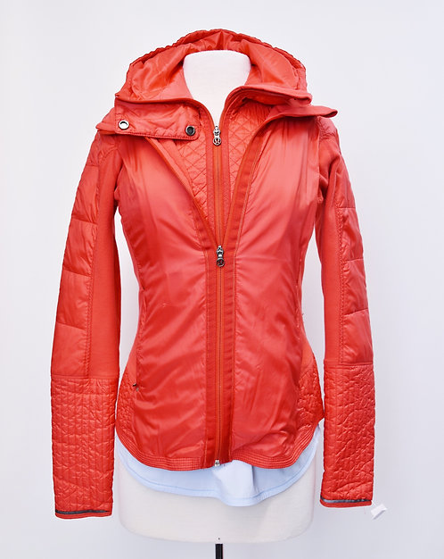 Lululemon Coral 2-N-1 Zip-Up Jacket Size Small