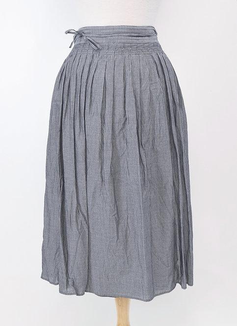 Vince Chambray Wrap-Skirt Size Medium