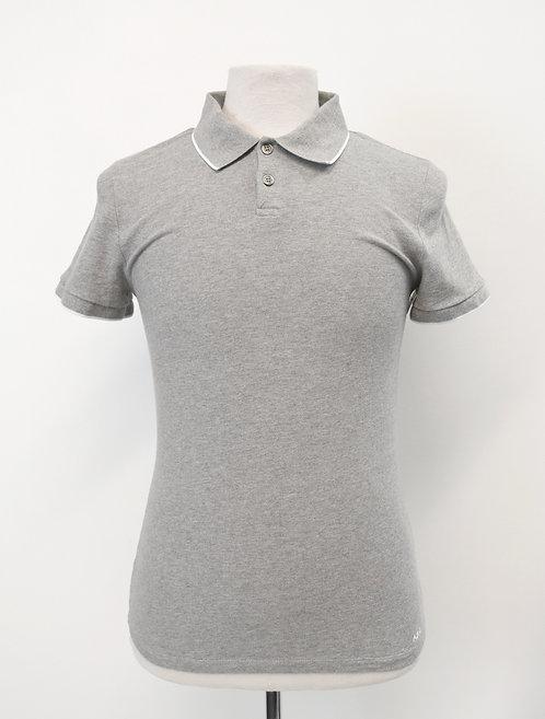 A.P.C. Gray Polo Shirt Size XS