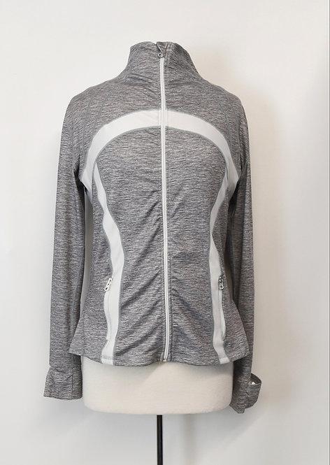 Lululemon Gray Zip-Up Jacket Size Medium (10)