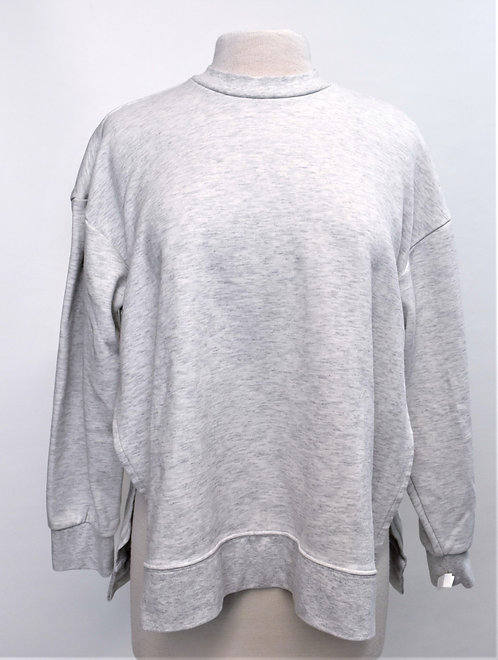 Adidas Light Gray Sweatshirt Size Small