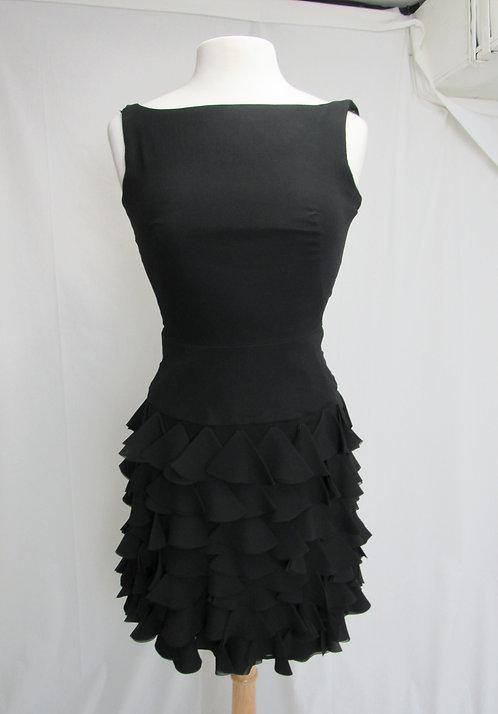 Milly Black Silk Dress Size XS (0)