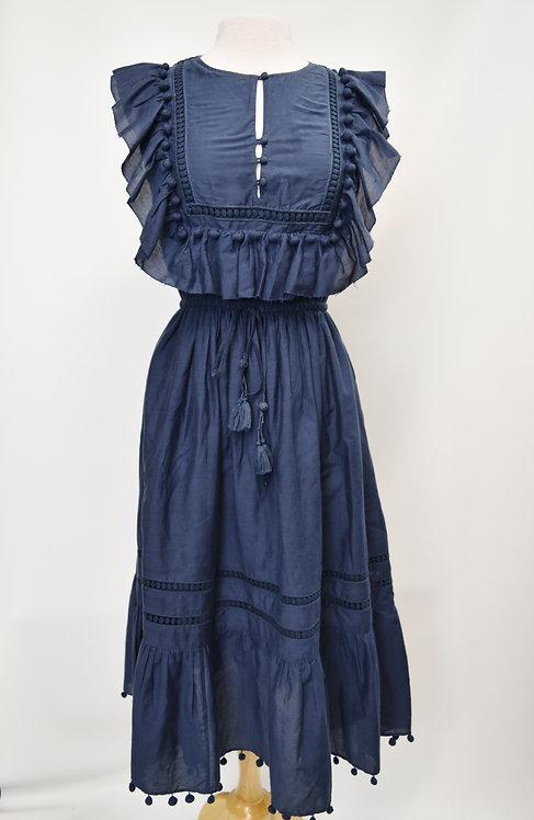 Sea New York Blue Maxi Dress Size 6