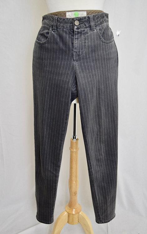 Stella McCartney Gray Pin-Stripe Jeans Size 28