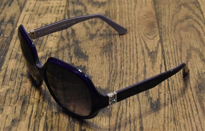 a45f07201841 LAKE VIEW LOCATION: We love these sunglasses by Fendi! They are round and over  sized with purple frames and purple gradient lenses.