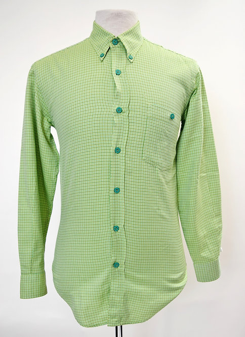 Missoni Green Plaid Shirt Size Small