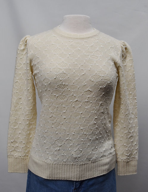 Marc Jacobs Ivory Sweater Size XS