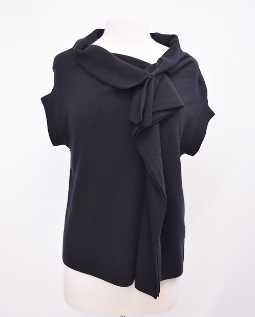 Robert Rodriguez Black Cashmere Top Size Medium