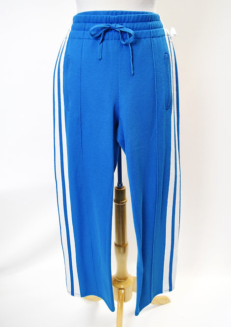 Isabel Marant Etoile Blue Knit Pants Size Medium