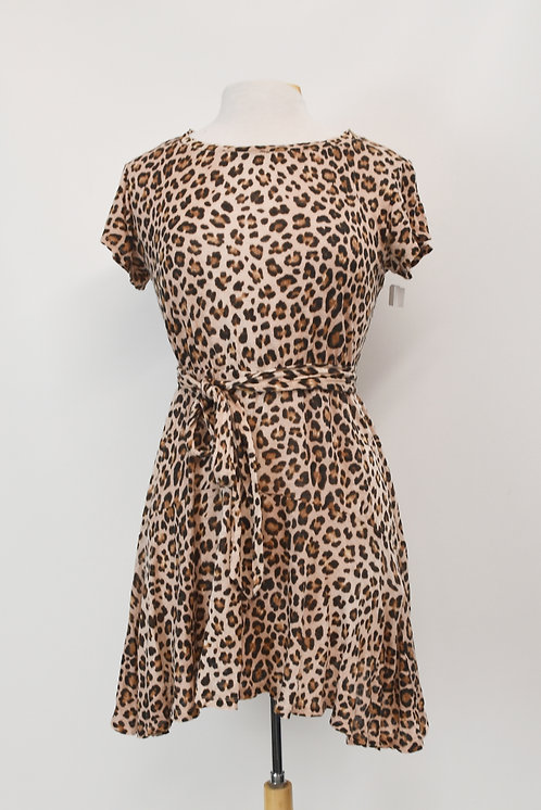 Rebecca Taylor Leopard Print Dress Size XS (2)