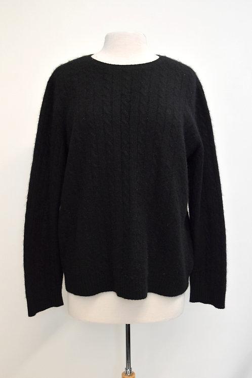 Ralph Lauren Black Cashmere Sweater Size XL