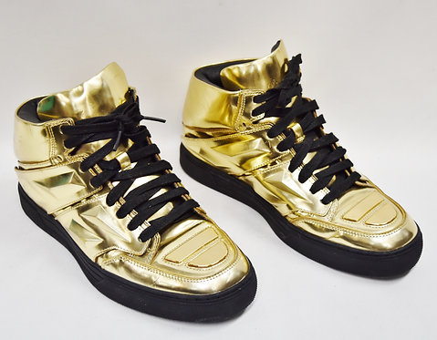 Alejandro Ingelmo Gold Sneakers Size 9