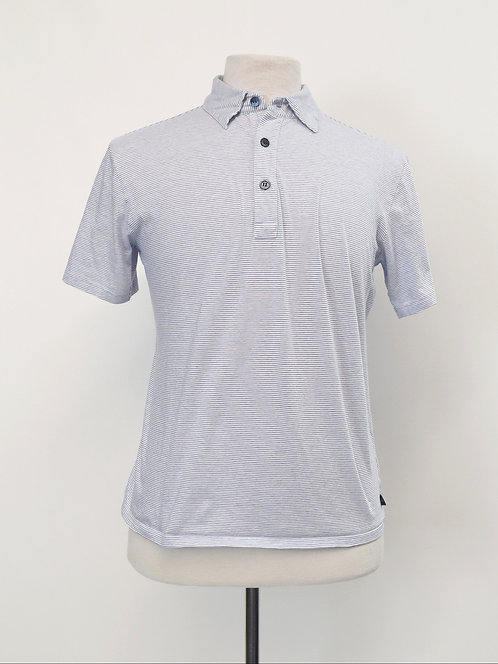 Agnes B Homme Light Blue Polo Size Small