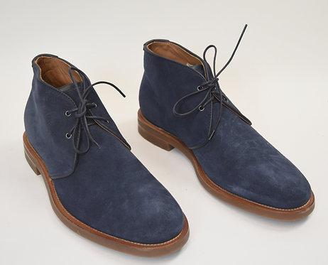 Aquatalia Blue Suede Chukka Boots Size 10