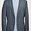 Thumbnail: Hugo Boss Blue Tweed Blazer Size 42R