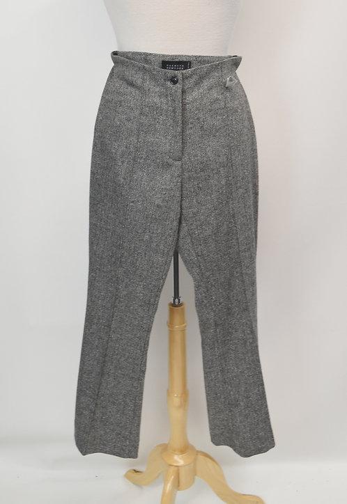 Barney's New York Gray Tweed Pants Size Small