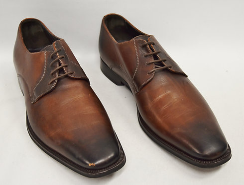 To Boot New York Brown Leather Shoes Size 10